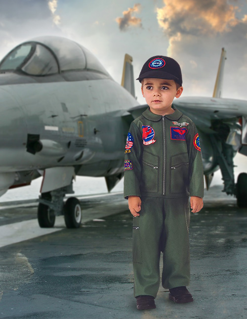 Top Gun Baby Costumes