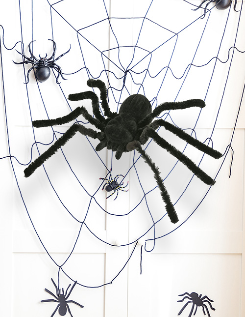 Spider Halloween Home Decor