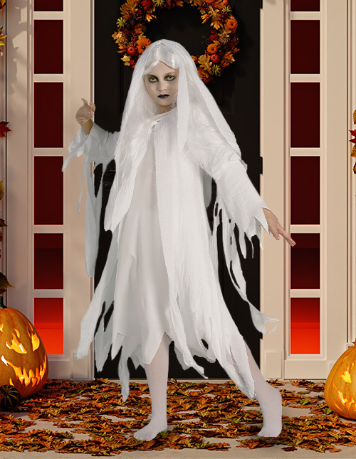 Ghost Halloween Costumes for Girls