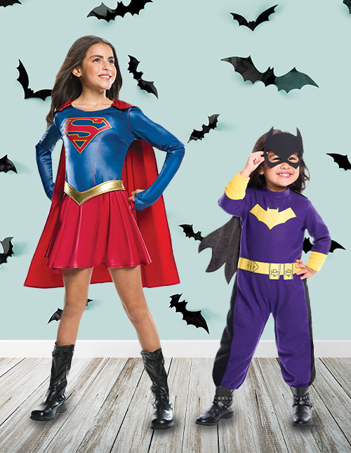 Superhero Halloween Costumes for Girls