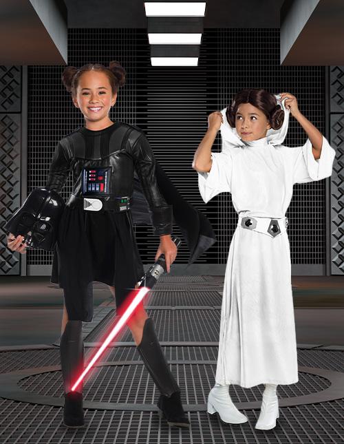 Star Wars Halloween Costumes for Girls