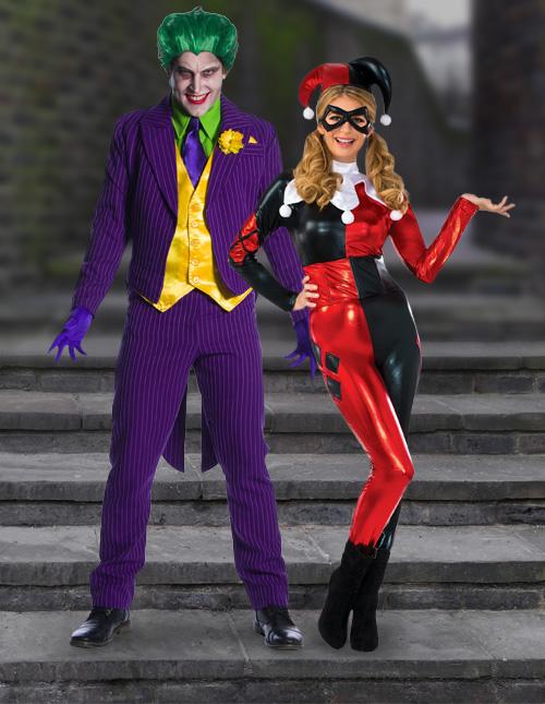 Harley Quinn and Joker Costumes