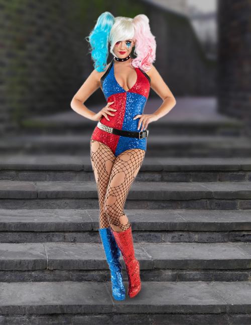 Harley Quinn Fancy Dress