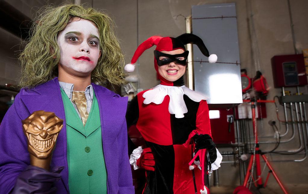 Joker and Harley Quinn Fancy Dress