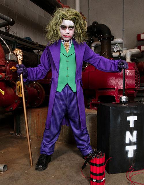 Kids' Joker Fancy Dress