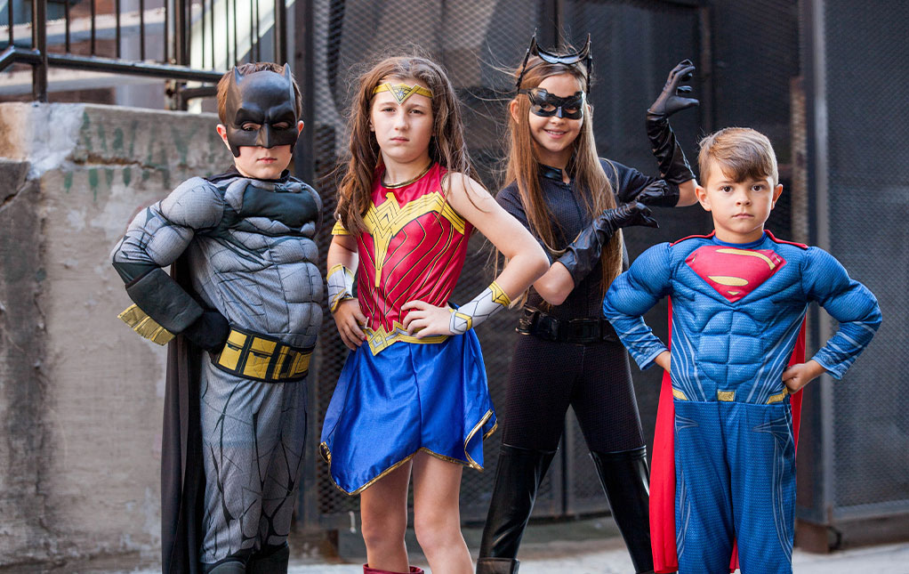 DC Halloween Outfits for Kids