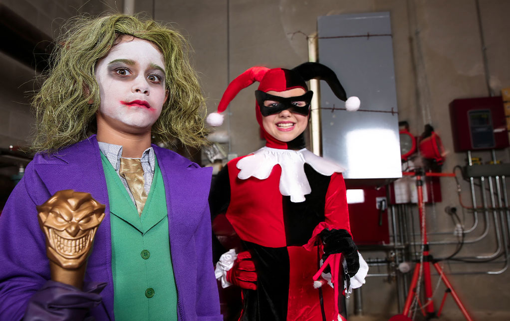 DC Villains Kids Fancy Dress Costumes