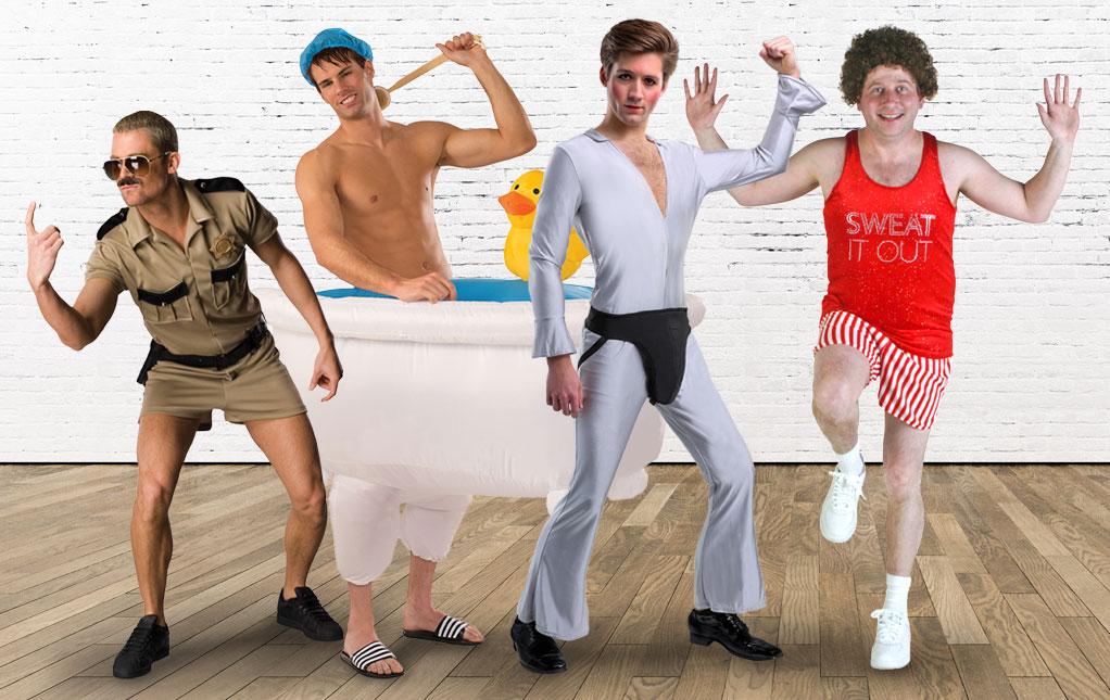 Funny Men's Halloween Costumes