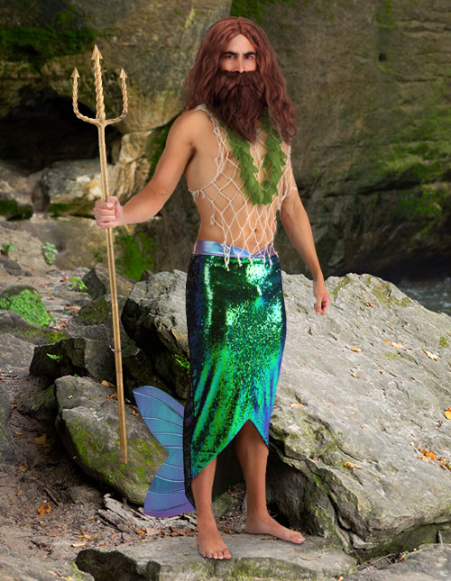 Men's Mermaid Costume