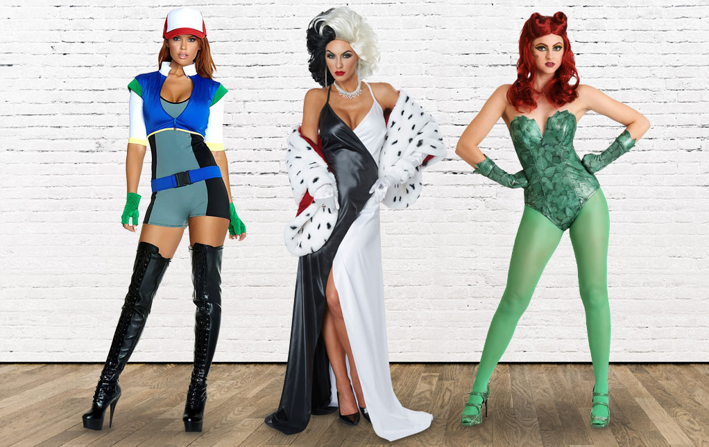 Sexy Halloween Costumes for Women