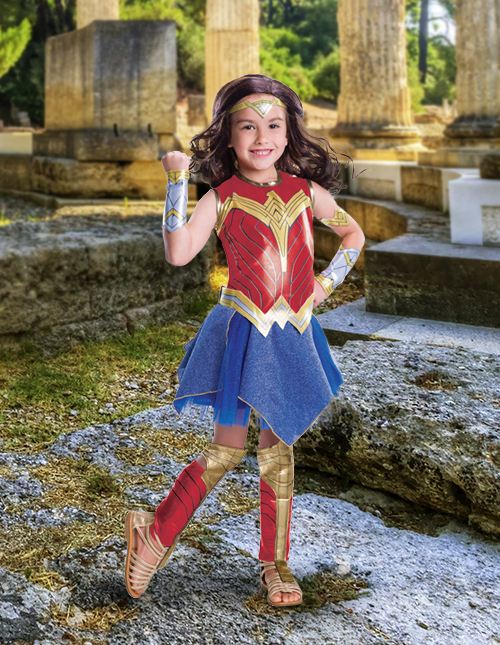Girls' Wonder Woman Costume