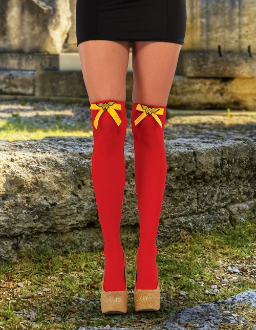 Wonder Woman Knee-High Socks