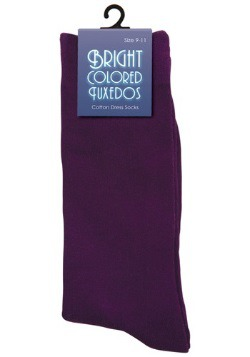 Men's Purple Socks