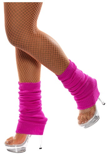Hot Pink Leg Warmers