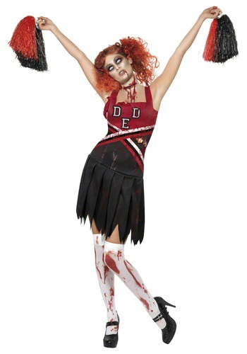 Zombie Cheerleader Costume