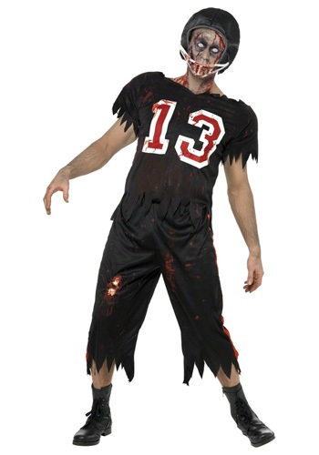 Zombie Football Player Costume
