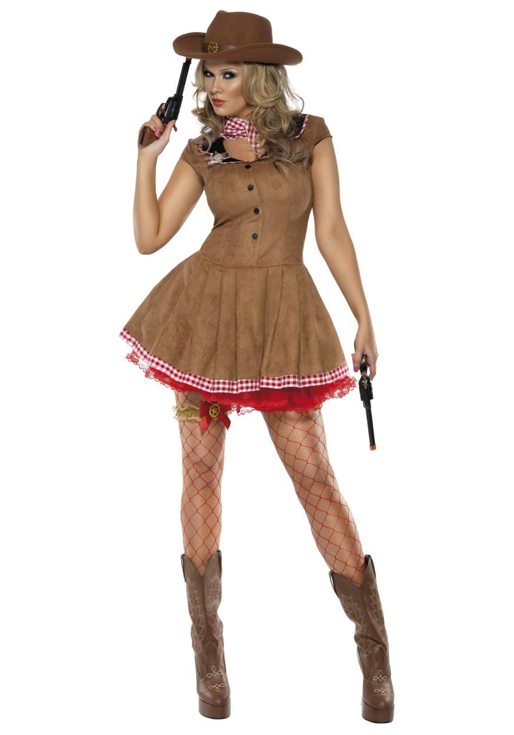 Wild West Cowgirl Costume