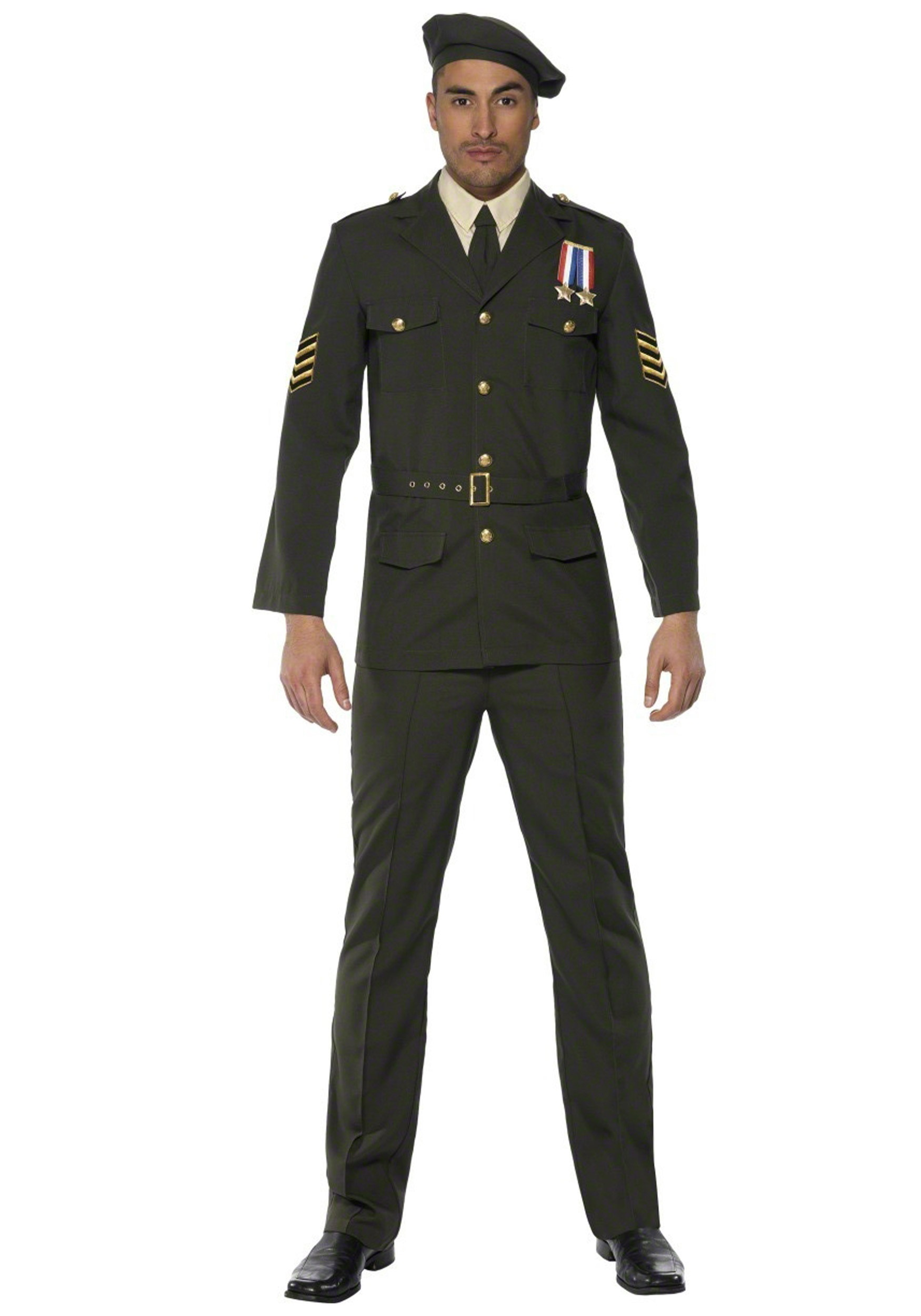 sc 1 st  Halloween Costumes UK & Mens Wartime Officer Costume