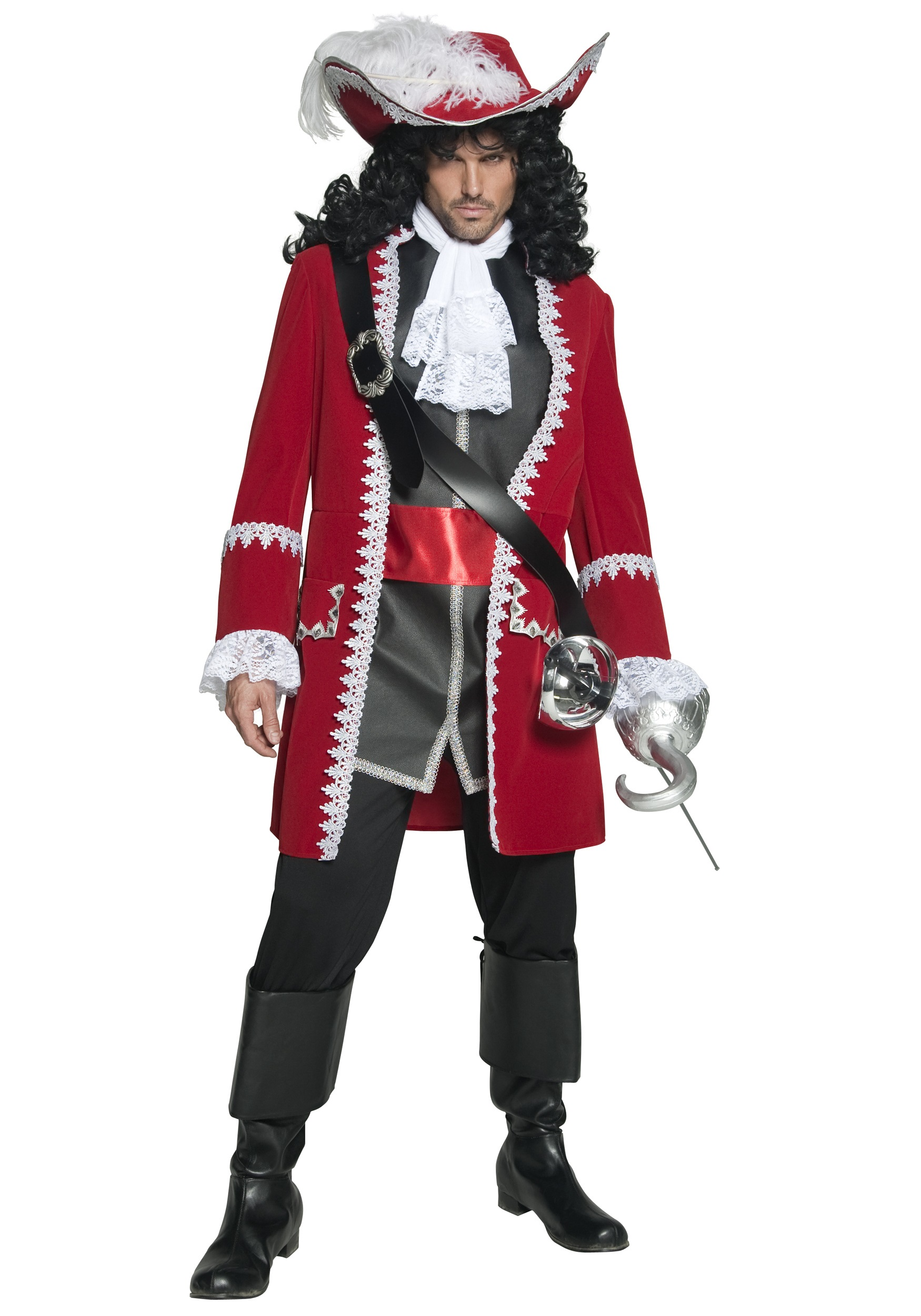 sc 1 st  Halloween Costumes UK & Mens Regal Pirate Captain Costume