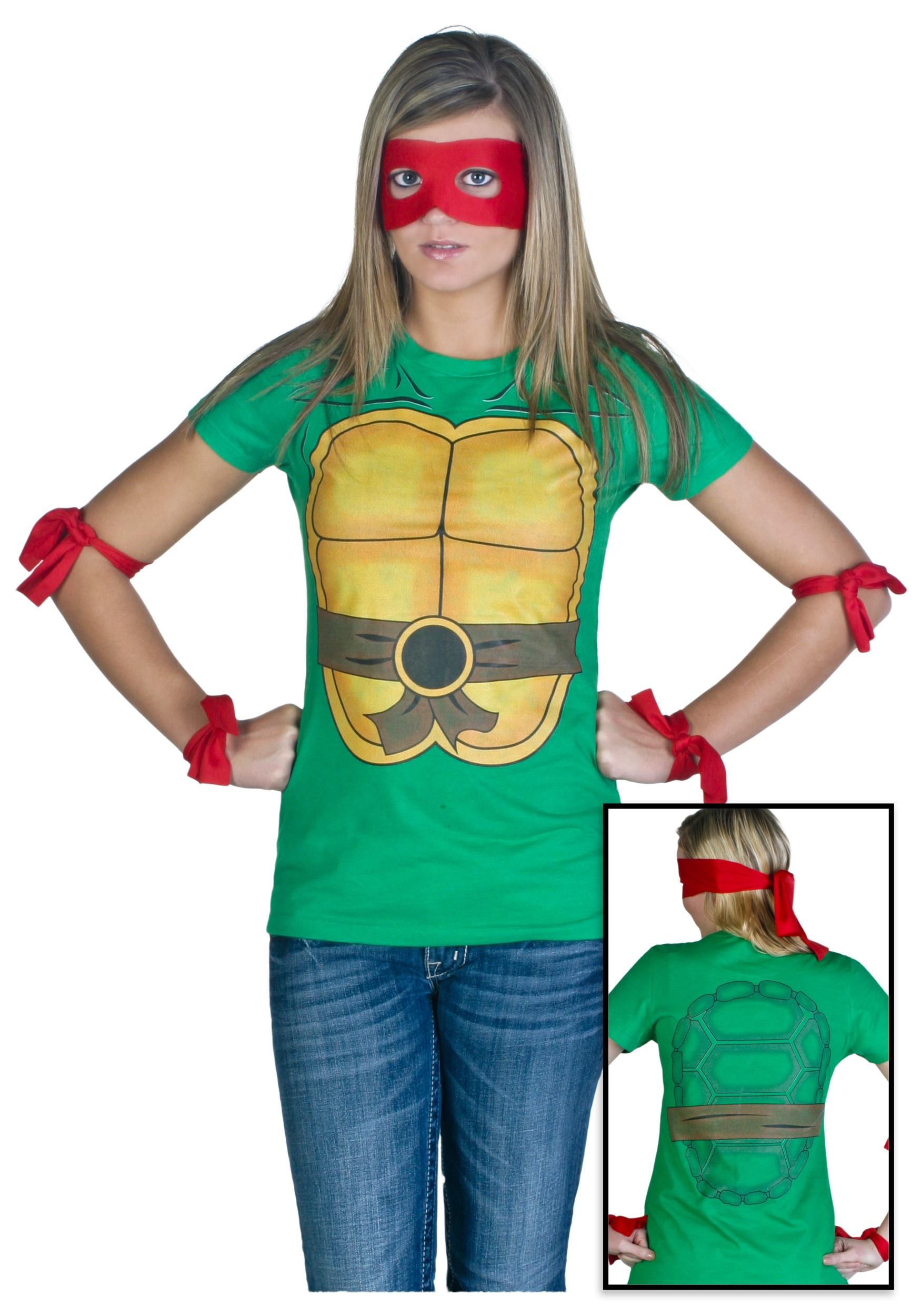 Womens Ninja Turtle T Shirt