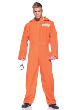 Plus Size Prison Jumpsuit