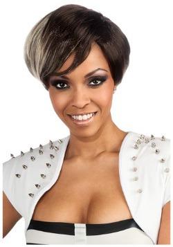 Rihanna Two Tone Wig