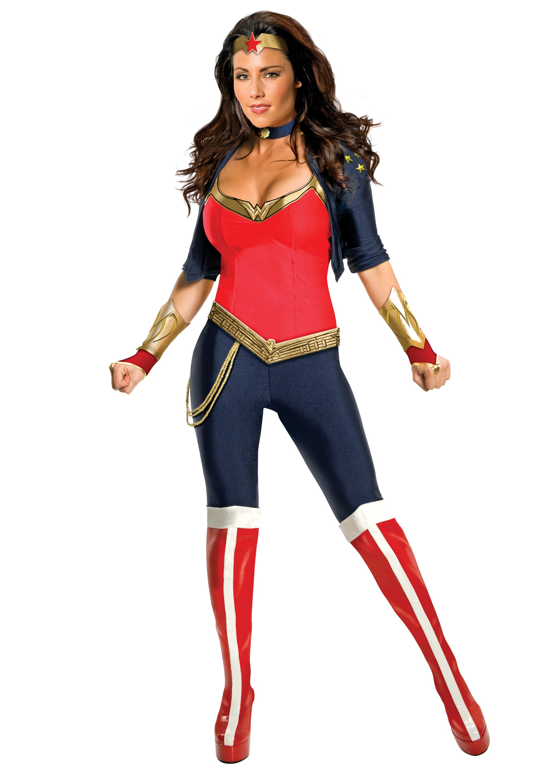 Modern Wonder Woman Costume  sc 1 st  Halloween Costumes UK & Female Superhero Costumes - Womenu0027s Halloween Superhero Costumes