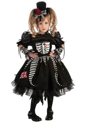 Girls Bones Costume