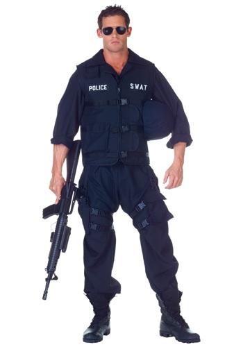 Plus SWAT Jumpsuit Costume