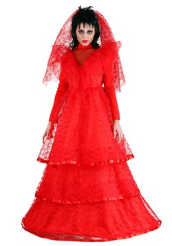 Plus Size Red Gothic Wedding Dress