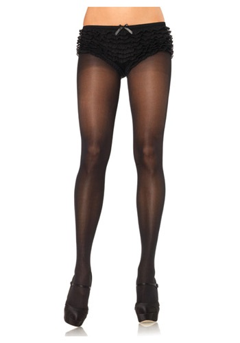 Plus Size Black Pantyhose