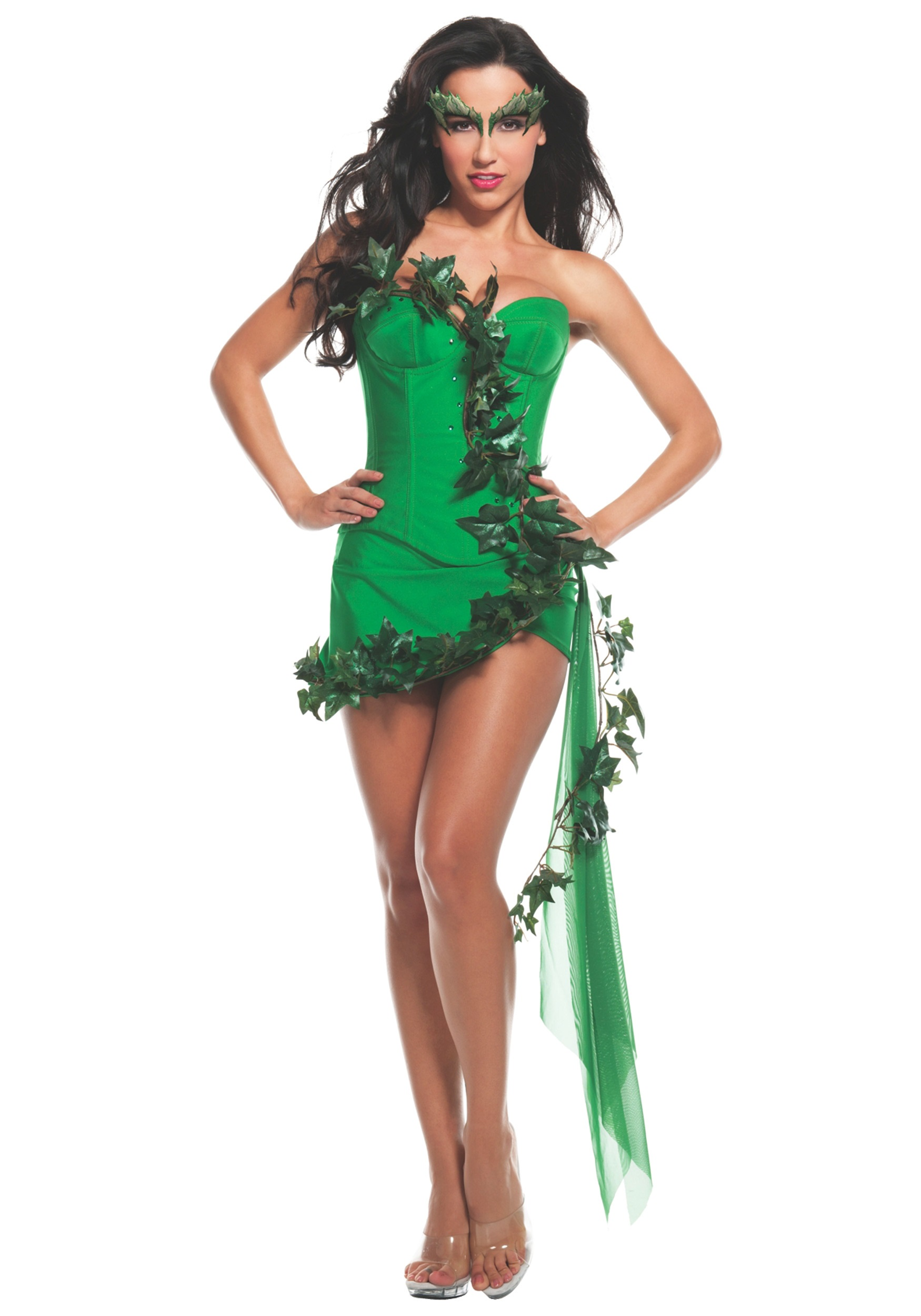 Womens Ivy Girl Costume  sc 1 st  Halloween Costumes UK : poison ivy costumes for adults  - Germanpascual.Com