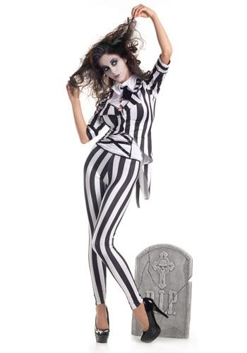 Adult Graveyard Ghost Costume