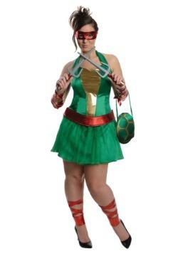 Plus Size Sexy TMNT Raphael Costume