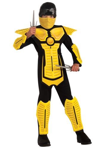 Child Yellow Ninja Costume