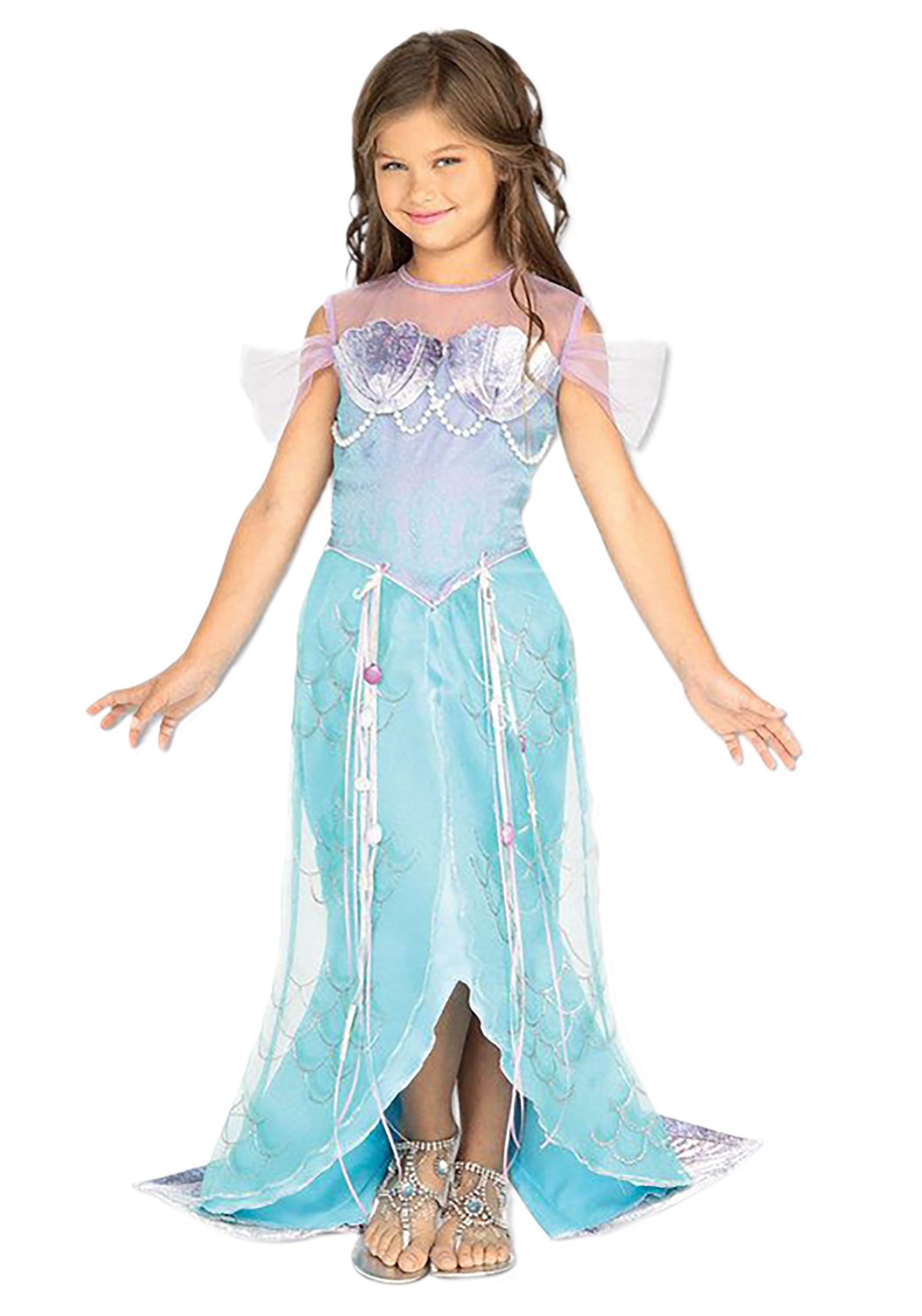 Child Mermaid Princess Costume  sc 1 st  Halloween Costumes UK & Mermaid Costumes - Adult Child Little Mermaid Costumes