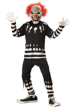 Kids Psycho Clown Costume