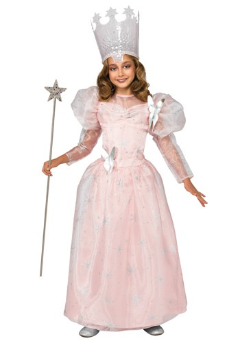 Deluxe Child Glinda the Good Witch Costume