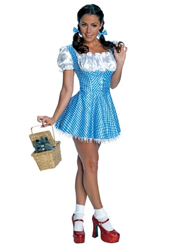 Adult Sequin Dorothy Costume