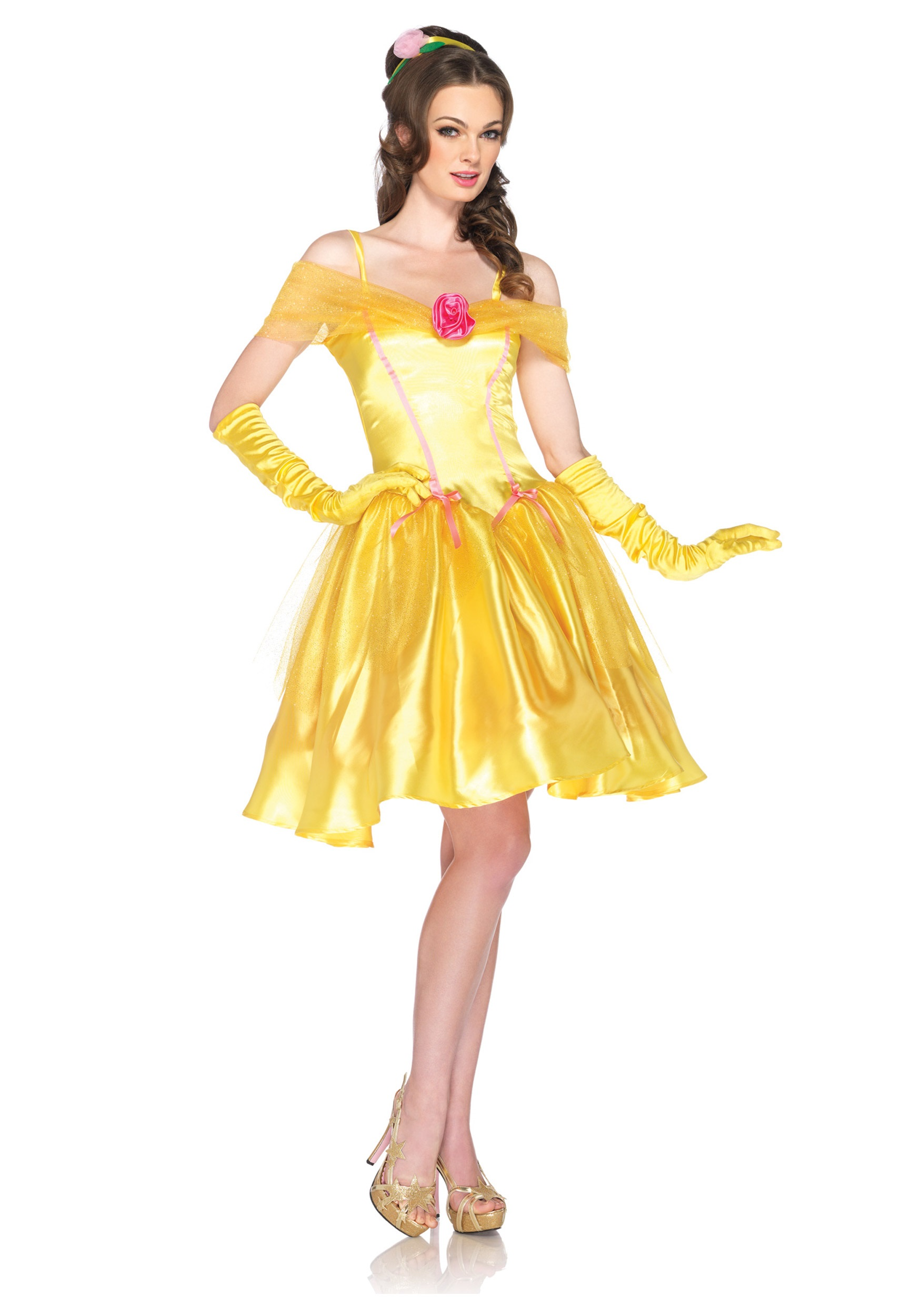 Womens Disney Princess Belle Costume