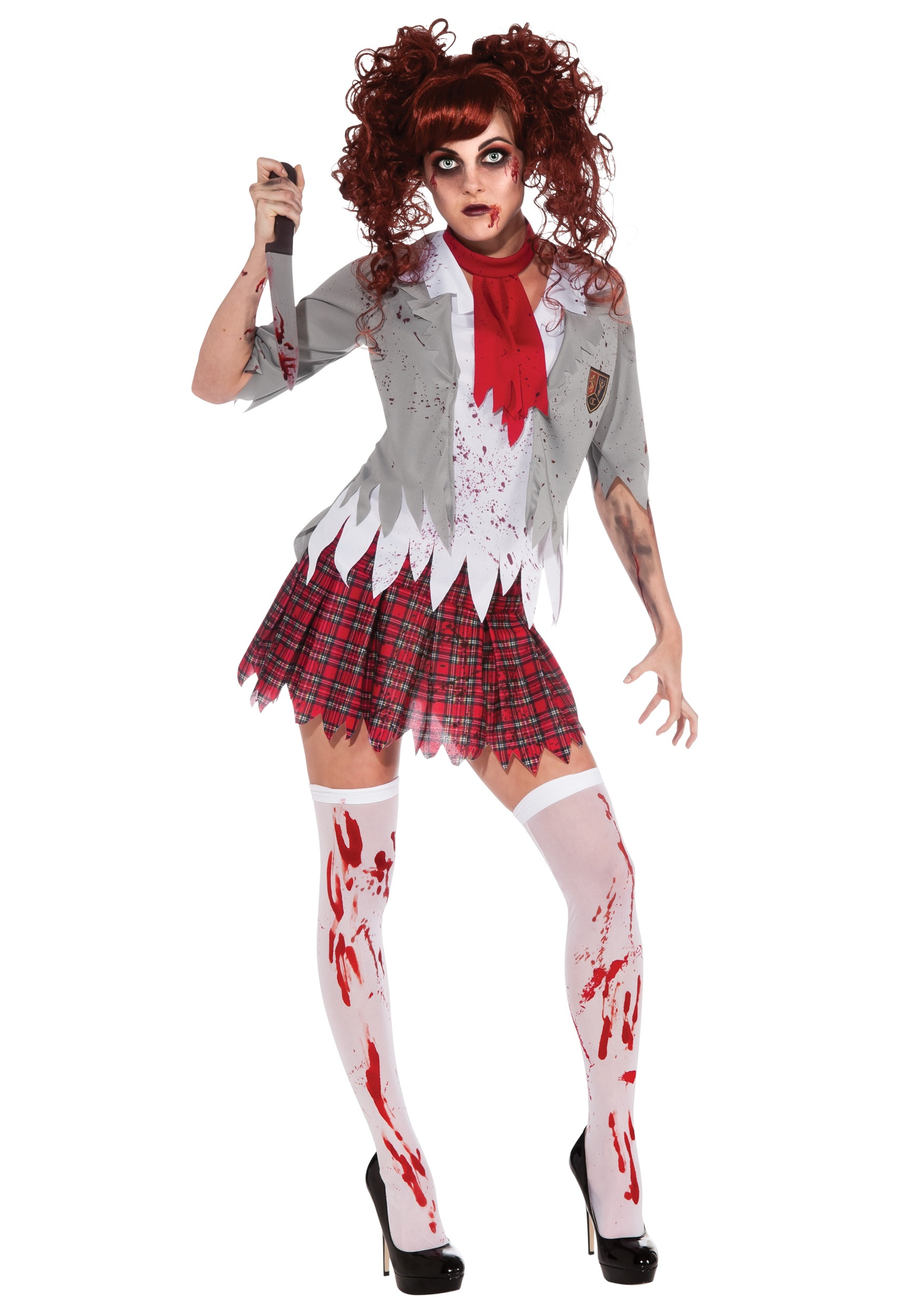Zombie Halloween Costumes For Toddlers.Zombie School Girl Costume