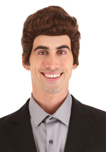 Brown Salesman Wig