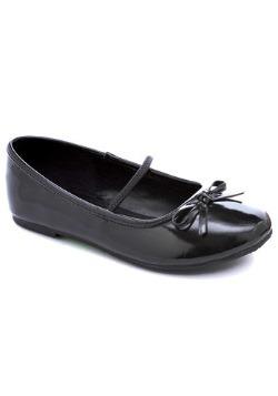 Girls Black Ballet Flats