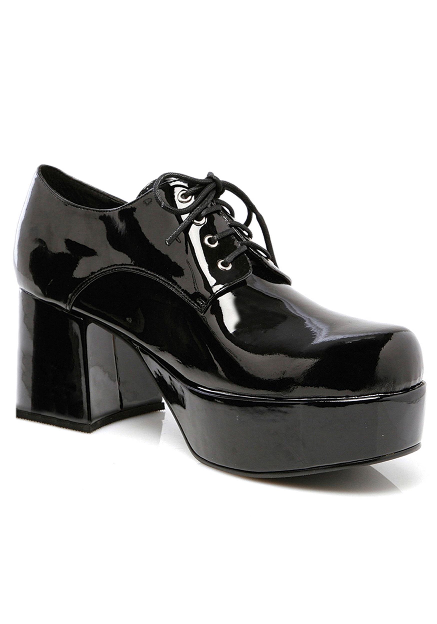 recognized brands new concept pick up Mens Black Pimp Shoes