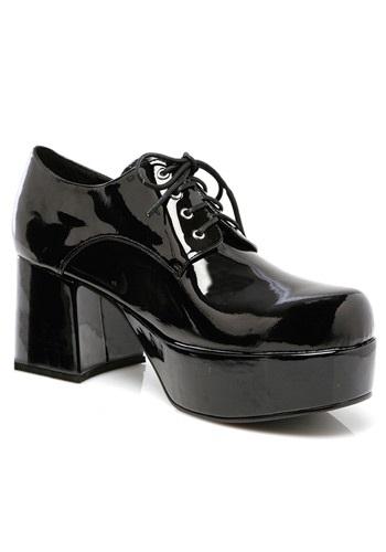 Mens Black Pimp Shoes