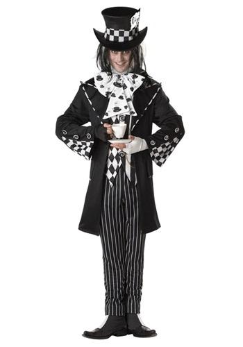 Plus Size Dark Mad Hatter Costume