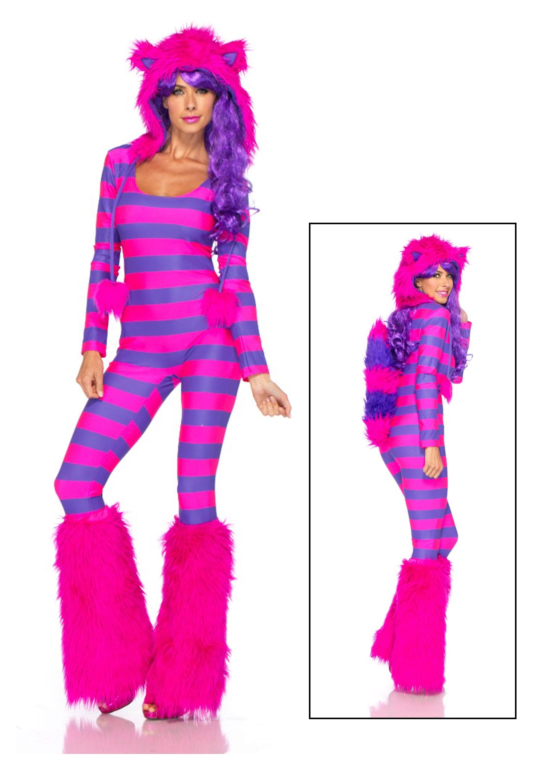 Leg Avenue Sexy Cheshire Cat Costume-8403