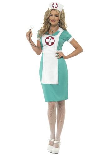 Womens Scrub Nurse Costume