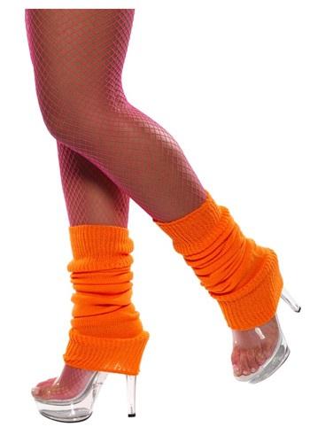 Orange Leg Warmers