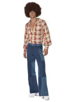 Men's Patchwork Pants